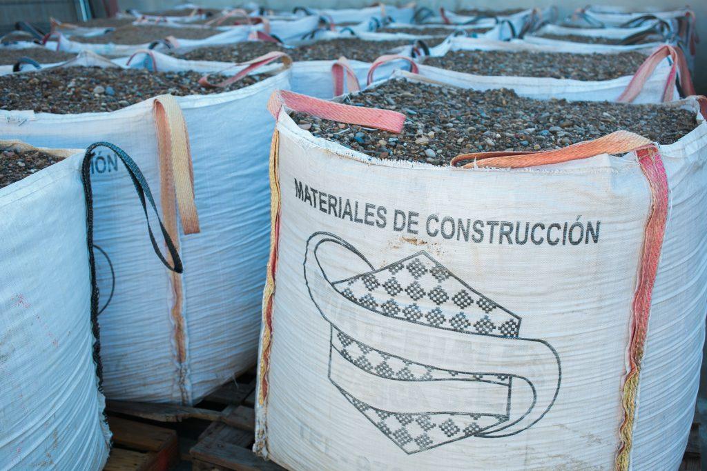 materiales de construcción Caspe